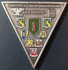Rare 3rd Iron Brigade 1st Infantry Division CDR/CSM  Military Challenge Coin