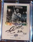 2013 Upper Deck All Time Greats Karl Malone Signatures Auto #ed 3 5 SP