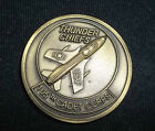 US Air Force ROTC 105th Cadet Corps Thunder Chiefs Challenge Coin RARE LQQK