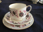 Paragon  tea cup and saucer trio  cup saucer tidbit plate  Michelle