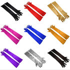 Exquisite Women's Evening Party Bridal Wedding Satin Arm Hand Sleeve Long Gloves
