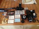 HUGE Camera Lot ~ Canon Rebel Sony Snapshot Sigma Lens Sony Lenses