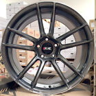 XXR 969 RS Chromium Black 18 Staggered Rims Wheels Stance Fit 96 Nissan 300zx TT