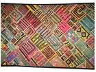 Kutch Embroidery Tapestry Patchwork Wall Hanging