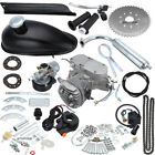 Sliver 50cc 2 Stroke Cycle Motor Kit Motorized Bike Petrol Gas Bicycle Engine