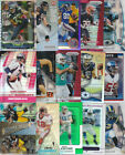 HUGE FOOTBALL SPORTS CARD REFRACTOR LOT LARGE COLLECTION ELWAY LYNCH BREES ROMO