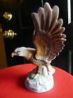 Royal Crown J Byron 1984 Arnart Eagle Figurine Landing on Rock