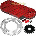 Red O-Ring Drive Chain & Sprockets Kit Fits SUZUKI GSX-R750 GSXR750 2000-2005