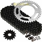 Black O-Ring Drive Chain & Sprockets Kit for Suzuki GSX-R600 GSXR600 2006-2010