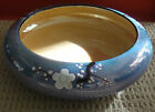 Beautiful Vintage Noritake Nippon Lusterware Centerpiece Bowl Dogwood Flower