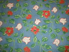 ORIGINAL BLOOMCRAFT SCREENPRINT-WITH STAIN REPELLANT- HEAVY COTTON FLORAL-NICE!.