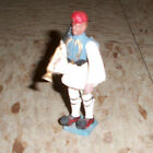 Vintage AOHNA Greek Soldier with flag and Bugle 54mm made in Greece