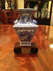 A Rare Antique Chinese Rare Shaped Blue and White Vase.
