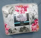 6 PC CYNTHIA ROWLEY FLORAL COMFORTER SET KING 108