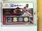 Topps Sterling Rod Carew 4x Relic Jersey Bat Auto 10 10