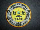 Okeechobee County Florida FL Sheriff Citizen Observation Patrol COP Police Patch