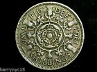 1962 Great Britain Florin, Two Shillings B
