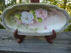 Vintage Nippon Coronation Ware Hand Painted Oval Serving Dish c1921