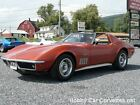 Chevrolet  Corvette Leather 1968 bronze 350 hp corvette t top 4 spd numbers matching fun driver
