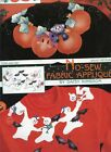 TWO Daisy Kingdom - HALLOWEEN - No-Sew Cut Out Iron-On Fabric Appliques - NEW