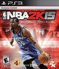 NBA 2K15 PS3 (Sony Playstation 3, 2014), MINT CONDITION