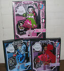3 Monster High Dolls Scarily Ever After Fairy Tales Frankie Clawdeen Draculaura