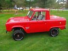 Ford  Bronco None 75 bronco half cab frame off resto 302 c 4 never seen salt never rusted