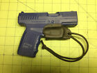 IWB Holster Trigger Guard for Mexican Style Carry for Kahr PM9 Kahr CM9