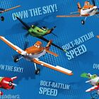 DISNEY PLANES FABRIC BOLT RATTLIN SPEED BTY MATCHES LET'S SOAR PANEL PLANES NEW