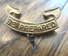 BOY SCOUT BSA BE PREPARED RIBBON LAPEL PIN BADGE 1911 B.S. OF A.