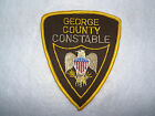 GEORGE COUNTY CONSTABLE MISSISSIPPI