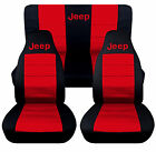 Cc Jeep Wrangler Tj-yj-lj Frontback Car Seat Coverschoose From 23 Colors