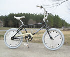 Rare BLACK 1980's Huffy Sigma Old School Freestyle BMX Bicycle