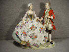 Wonderful c.1900 Capodimonte Italian FIgurine of a Man and Woman