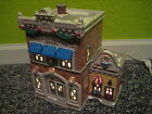 Department 56 1995 Snow Village Police Station and Doughnut Shop retired1998