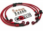 APRILIA RS250 1998-2004 FRONT (2) & REAR LINE CUSTOM BRAKE LINE KIT CORE MOTO