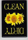 METAL DISHWASHER MAGNET Image Of Sunflowers Clean Dirty Dishes Flowers MAGNET X