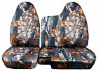 Cc 98-03 Ford Ranger Tree Camo Car Seat Covers 6040 Split Bench Wmolded Hr 35