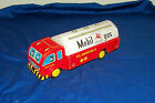 Vintage Mobil Gas Mobilgas Tin Pressed Metal Truck Hayashi Japanese Oil Toy Old