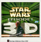 Star Wars Episode I Widevision 3-D Trading Card Box (36)