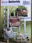 Butterick Pattern 5197 Tote Bags shoulder bags large purses lined pockets