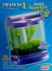 Mini Bow 1 Gallon Junior Fish Tank Kit Purple Acrylic Air Pump Stone