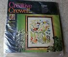 NEW Vintage 1972 Ecology Erica Wilson Creative Crewel Kit Columbia Minerva 7217