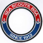 Sea Scouts, BSA Since 1912 World Crest Ring - Private Issue Non BSA
