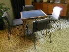 Set 4 Vintage Pace Collection NYC CHAIRS  ITALY  Hairpin Legs MCM Modernist