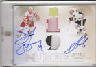 09-10 UD Cup Honourable Numbers Steve Yzerman Jonathan Toews Patch Auto 19