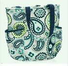 Thirty One Retro Metro Bag In Paisley Day Shopping Shoulder Tote Utility 31 New