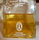 VTG~STATEGY~MARY CHESS~TOILET WATER~STATEGY~LARGE 6 OZ BOTTLE OVER 1/2 FULL!