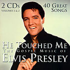He Touched Me: The Gospel Music of Elvis Presley by Elvis Presley  2 CD New!