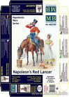 Master Box - 3209 - Napoleon's Red Lancer. Napoleonic Wars era - 1:32